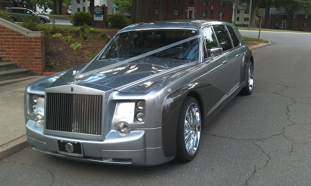 The Royal Rolls Royce Phantom Ballantyne Limousine