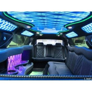 Beautiful limo interiors